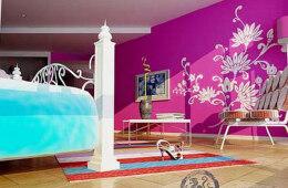 设计师家居装饰手绘墙设计绘画感想
