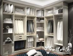 时尚衣柜设计图欣赏