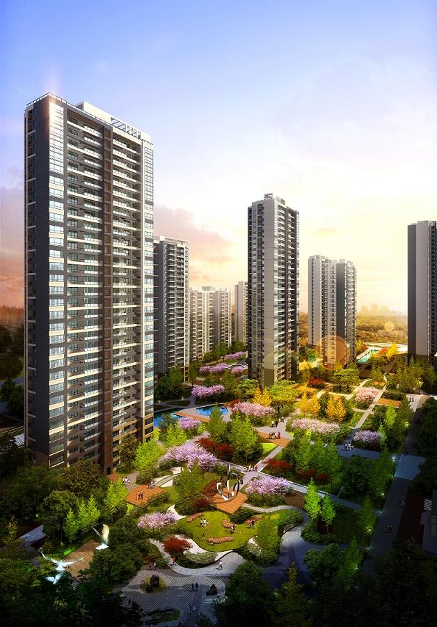 重庆万科花园 东海岸项目