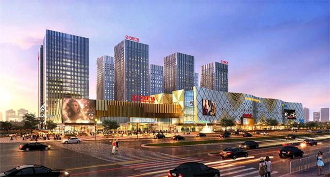 蚌埠市万达广场项目