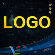 威客服务:[43156] 中高端【3VDesign】艺术创意LOGO定制