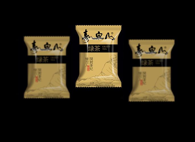 壽泉山茶包裝袋設計
