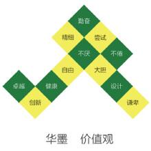 威客服务:[46284] 华墨  价值观