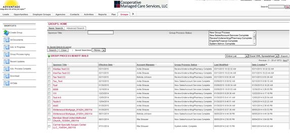 ADVANTAGE 医疗保险管理系统