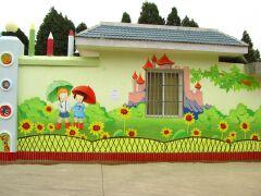 幼儿园手绘墙设计制作创意元素