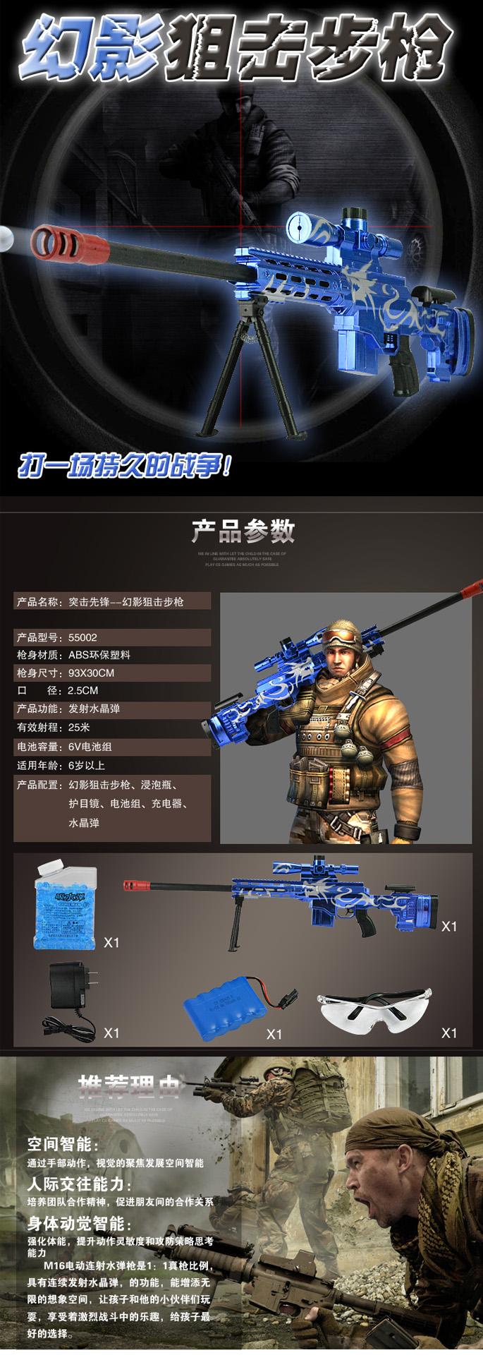 狙擊槍詳情頁