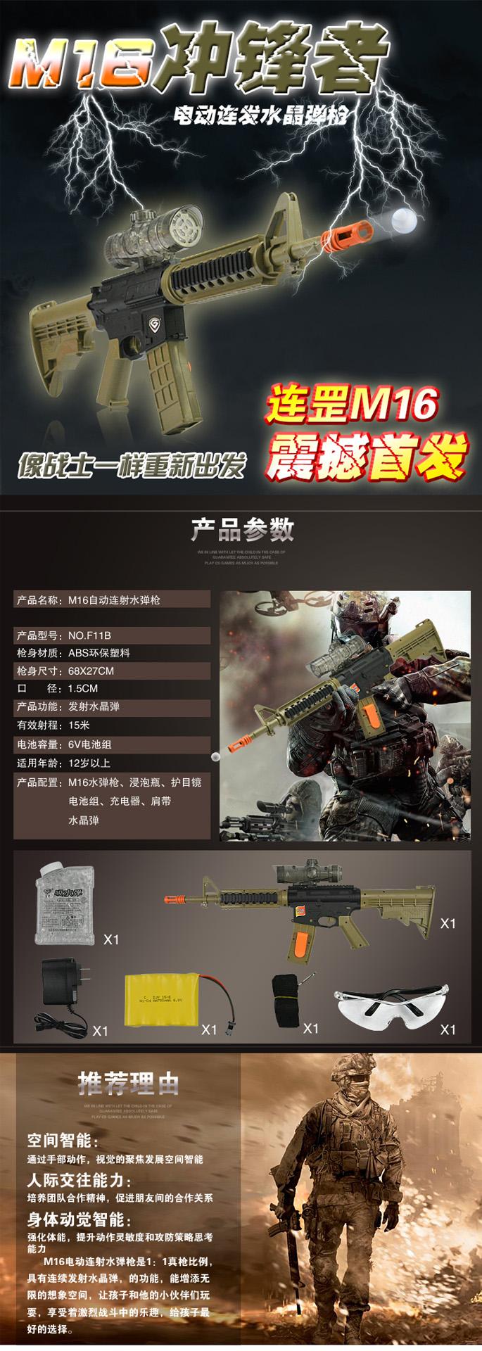 M16沖鋒者詳情頁