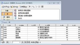 access数据库设计的功能特点