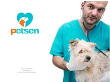 派盛宠物药 logo设计