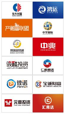 金融贸易类logo案例集锦