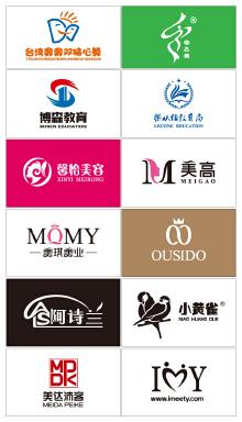 教育、服饰、美容类logo集锦