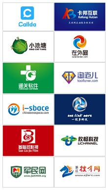 科技网站类logo案例集锦