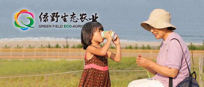 绿野生态农业标志商标设计