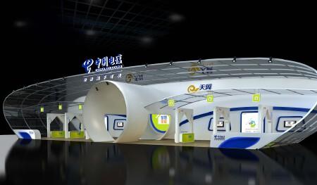 中国电信广东区创意展厅采纳方案
