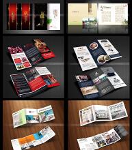 威客服务:[54753] 高端画册DM宣传单印刷/logo海报/彩页/包装/三折页/平面设计