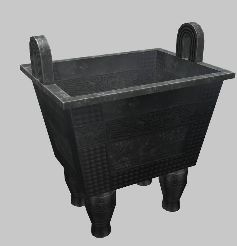 Web3D古董交互展示