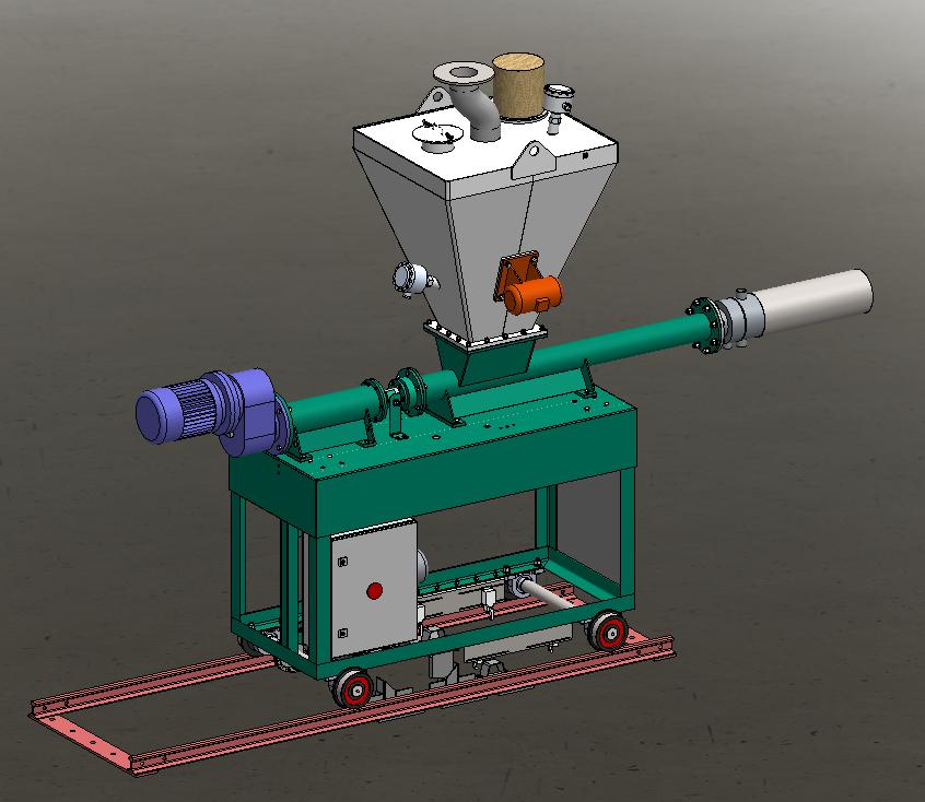 窯爐投料機