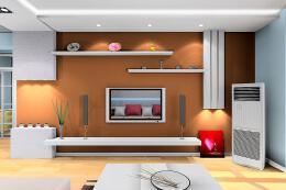 小户型客厅电视墙设计方案
