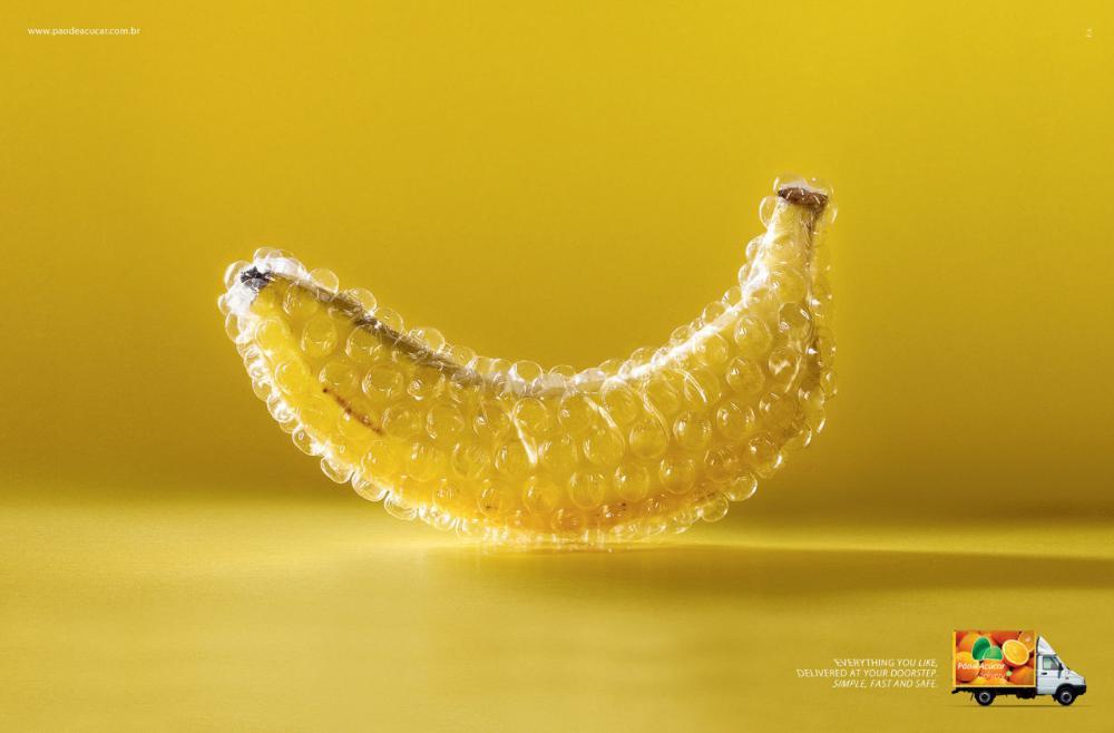 创意平面广告宣传设计构成
