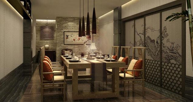 酒店餐饮会所装饰设计方案
