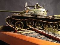T34-85全内构坦克模型制作手法