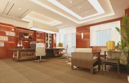 董事长办公室装潢设计的重要方面