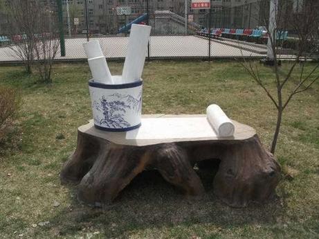 优秀的现代校园雕塑设计构成元素