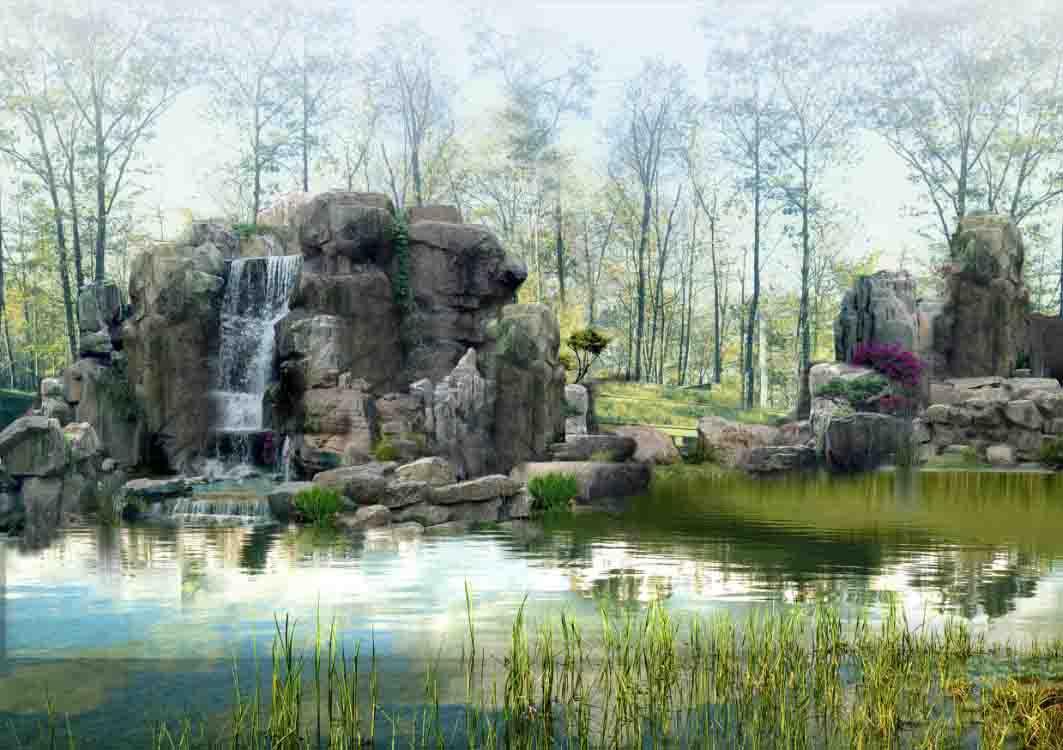 人工湖设计