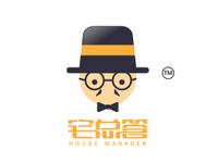 宅总管logo设计
