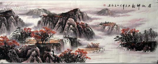 中国书画宣纸横幅尺寸规则知识细则
