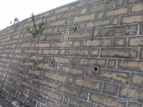 挡土墙设计的墙身设计要求