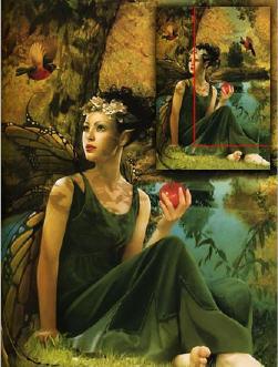 三种场景插画布局设计隐含格式类型
