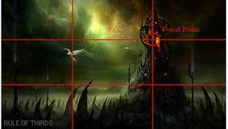 场景插画设计的三分法概念解析