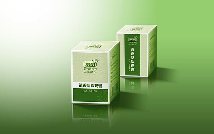 景泉茶葉外包裝設計