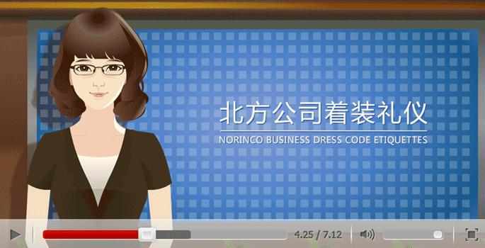 北方工业礼仪系列宣传动画