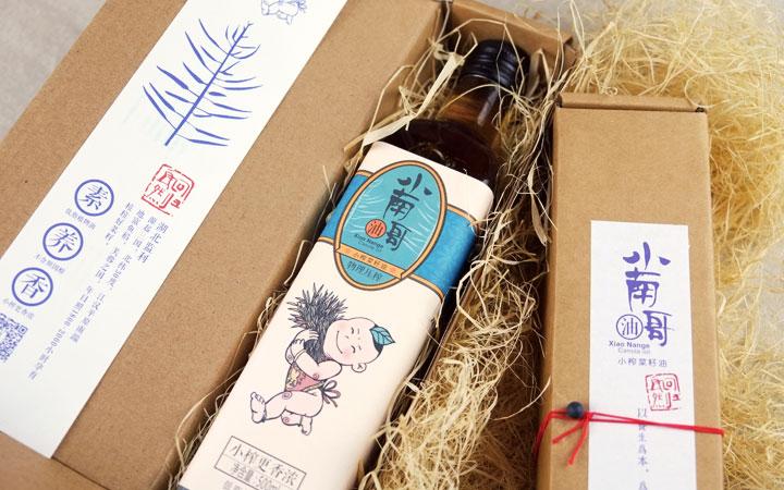 高端菜籽油包裝設計