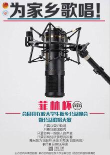 菲林杯暨公益歌唱大赛 海报设计