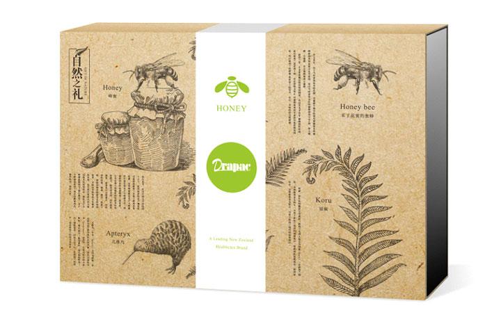 蜂蜜禮盒包裝設計