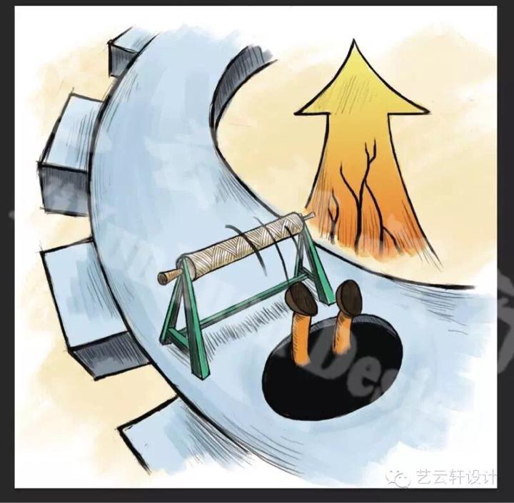 工业插画2