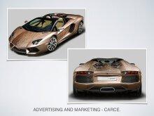 Lamborghini Aventador Roadster 车身贴膜设计