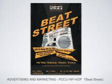 Beat Street 活动海报设计