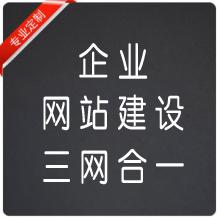 企业网站建设(三网合一)