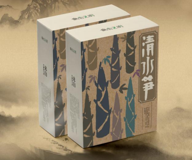 食尚三明包裝設計:清水筍