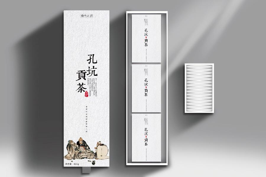 食尚三明包裝設計:孔坑貢茶