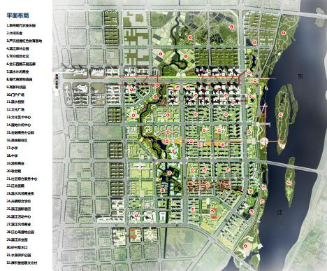 江北控規及城市設計