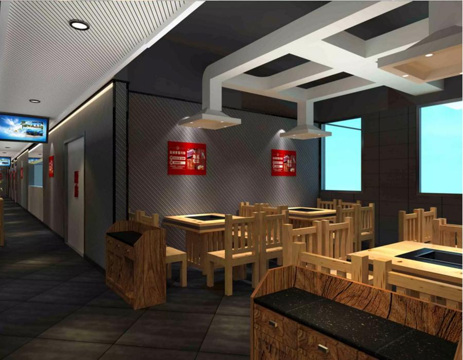 巴西烤肉主題餐廳設計