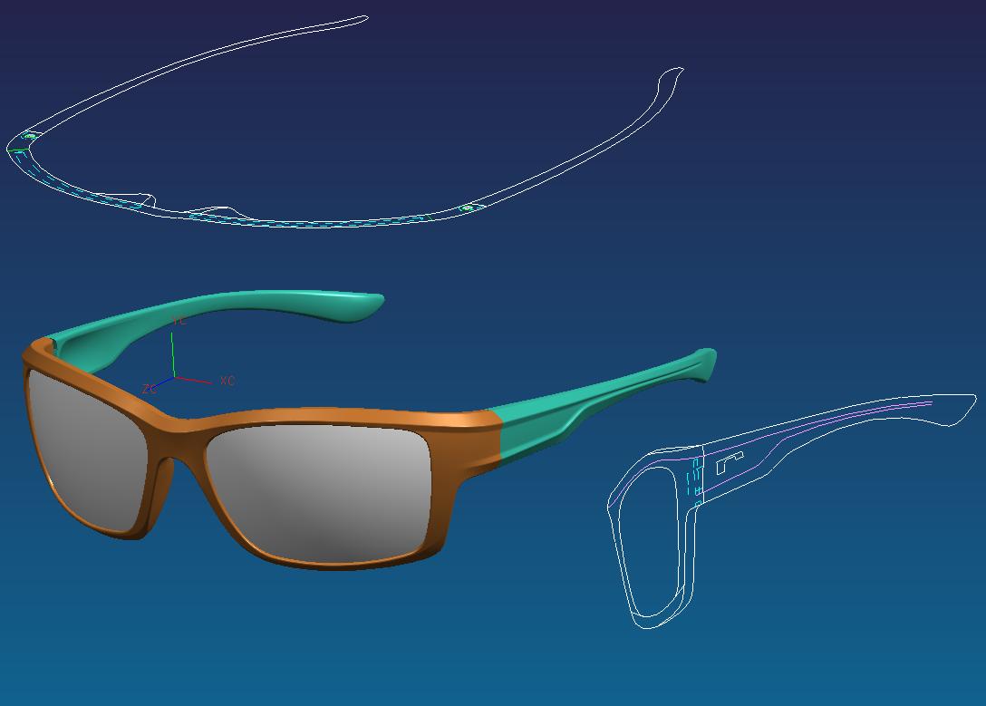 眼鏡產品設計