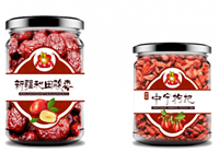 高端品牌罐装瓶贴设计(2个)