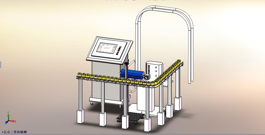 該方案為店家為某激光產品公司推廣所做的流水線工作產品表達方案