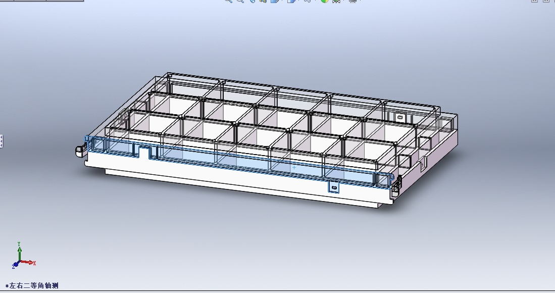 該案例為店家為某凈化產品公司所做的凈化裝置內部結構表達結構圖。